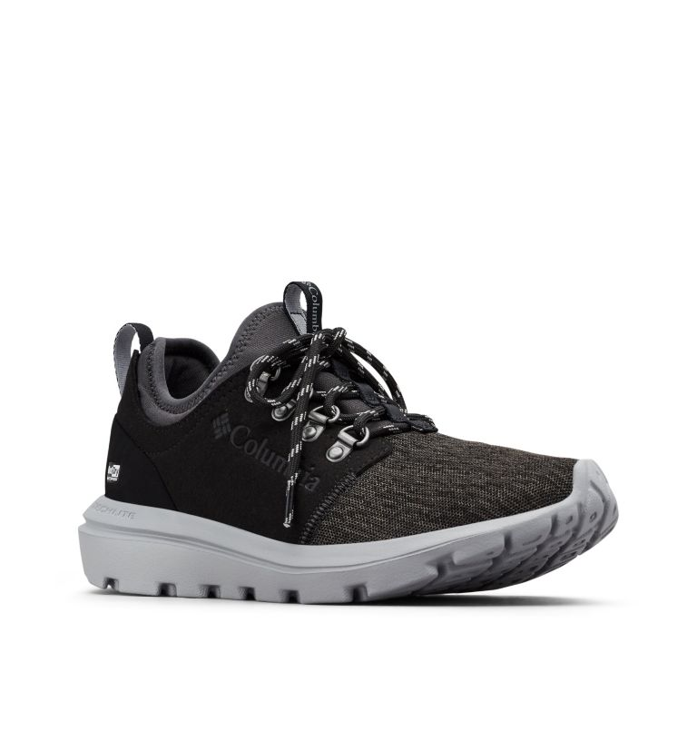 BACKPEDAL CLIME™ OUTDRY™ | 011 | 10.5 Scarpe Backpedal Clime™ OutDry™ da donna, Shark, Columbia Grey, 3/4 front