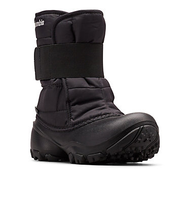 Big Kids' Rope Tow™ Kruser 2 Boot YOUTH ROPE TOW™ KRUSER 2 | 010 | 1, Black, Columbia Grey, 3/4 front