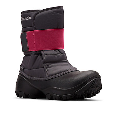 Big Kids' Rope Tow™ Kruser 2 Boot YOUTH ROPE TOW™ KRUSER 2 | 010 | 1, Dark Grey, Pink Ice, 3/4 front