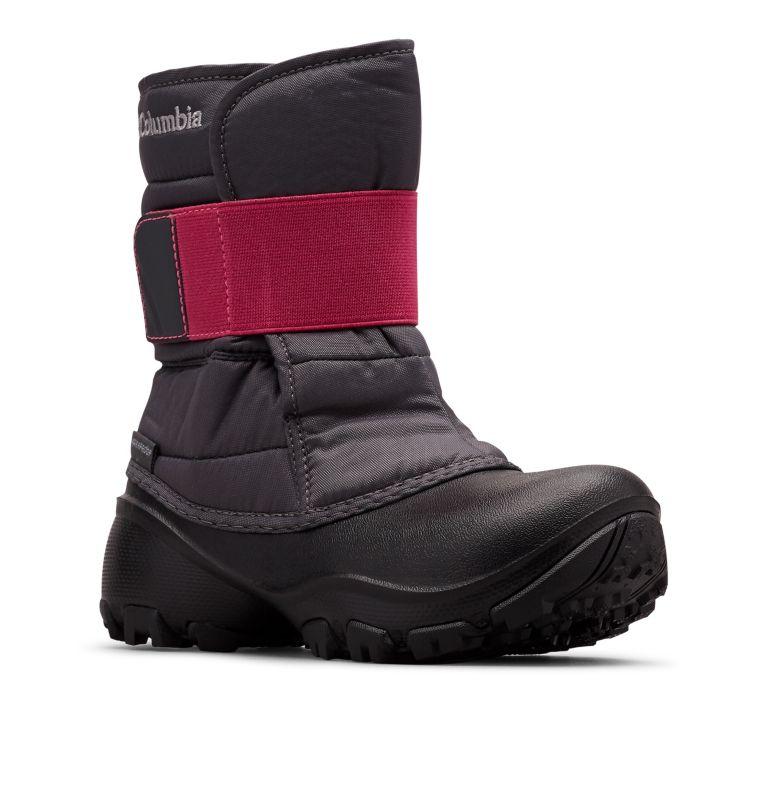 YOUTH ROPE TOW™ KRUSER 2 | 090 | 4 Youth  Rope Tow Kruser 2 Boot, Dark Grey, Pink Ice, 3/4 front
