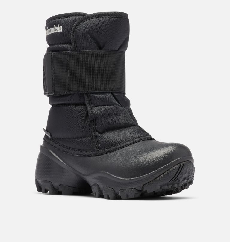 CHILDRENS ROPE TOW™ KRUSER 2 | 010 | 12 Little Kids' Rope Tow™ Kruser Boot, Black, Columbia Grey, 3/4 front