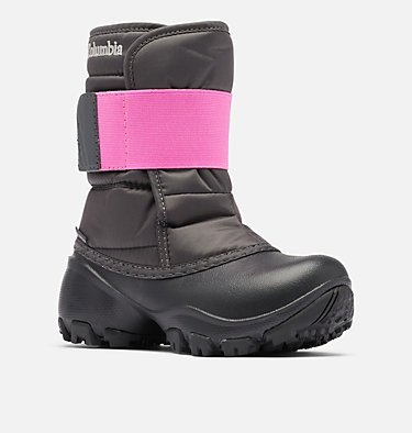 Rope Tow™ Kruser 2 Kinderstiefel CHILDRENS ROPE TOW™ KRUSER 2 | 010 | 12.5, Dark Grey, Pink Ice, 3/4 front
