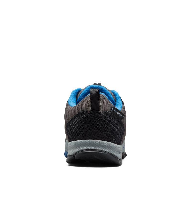 YOUTH FIRECAMP™ SLEDDER 3 WP | 089 | 4 Big Kids' Firecamp™ Sledder Waterproof Shoe, Dark Grey, Royal, back