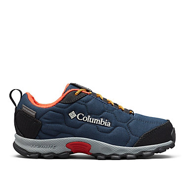 Youth Firecamp™ Sledder 3 Waterproof Shoe YOUTH FIRECAMP™ SLEDDER 3 WP | 036 | 1, Collegiate Navy, Flame, front