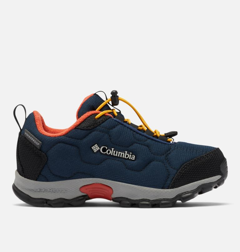 CHILDRENS FIRECAMP™ SLEDDER 3 WP | 464 | 13 Chaussure Imperméable Firecamp Sledder 3 Enfant, Collegiate Navy, Flame, front
