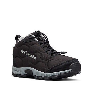 Scarpe Firecamp Mid 2 Waterproof da ragazzo YOUTH FIRECAMP™ MID 2 WP | 036 | 5, Black, Monument, 3/4 front