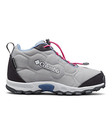 Scarpe Firecamp Mid 2 Waterproof da ragazzo YOUTH FIRECAMP™ MID 2 WP | 036 | 5, Monument, Bluebell, front
