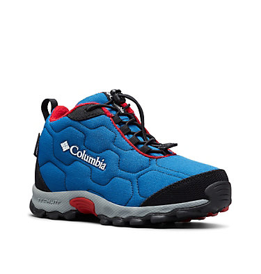 Big Kids' Firecamp™ Mid Waterproof Shoe YOUTH FIRECAMP™ MID 2 WP | 036 | 1, Royal, Rocket, 3/4 front