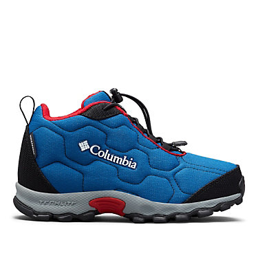 Big Kids' Firecamp™ Mid Waterproof Shoe YOUTH FIRECAMP™ MID 2 WP | 036 | 1, Royal, Rocket, front