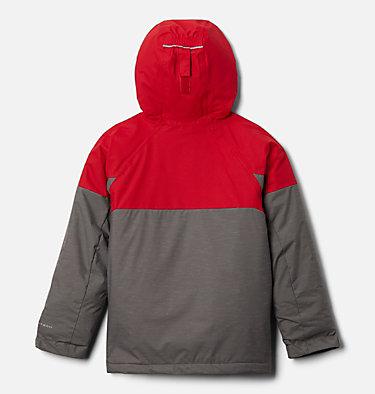 Boys' Alpine Action™ II Jacket Alpine Action™II Jacket | 023 | XL, City Grey Heather, Mtn Red, back