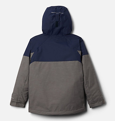 Boys' Alpine Action™ II Jacket Alpine Action™II Jacket | 432 | XXS, City Grey Heather, Collegiate Navy, back
