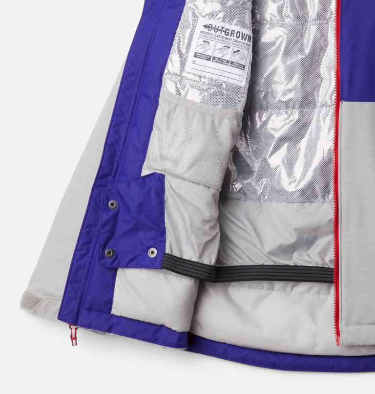 Alpine Action™II Jacket | 139 | XL Boys' Alpine Action™ II Jacket, Columbia Grey Heather, Purple Quartz, a1