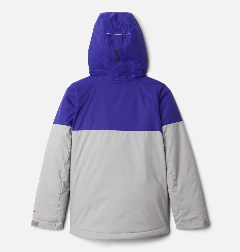 Alpine Action™II Jacket | 139 | XL Boys' Alpine Action™ II Jacket, Columbia Grey Heather, Purple Quartz, back