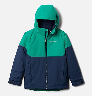 Boys' Alpine Action™ II Jacket Alpine Action™II Jacket | 432 | XXS, Collegiate Navy Heather, Emerald Green, front
