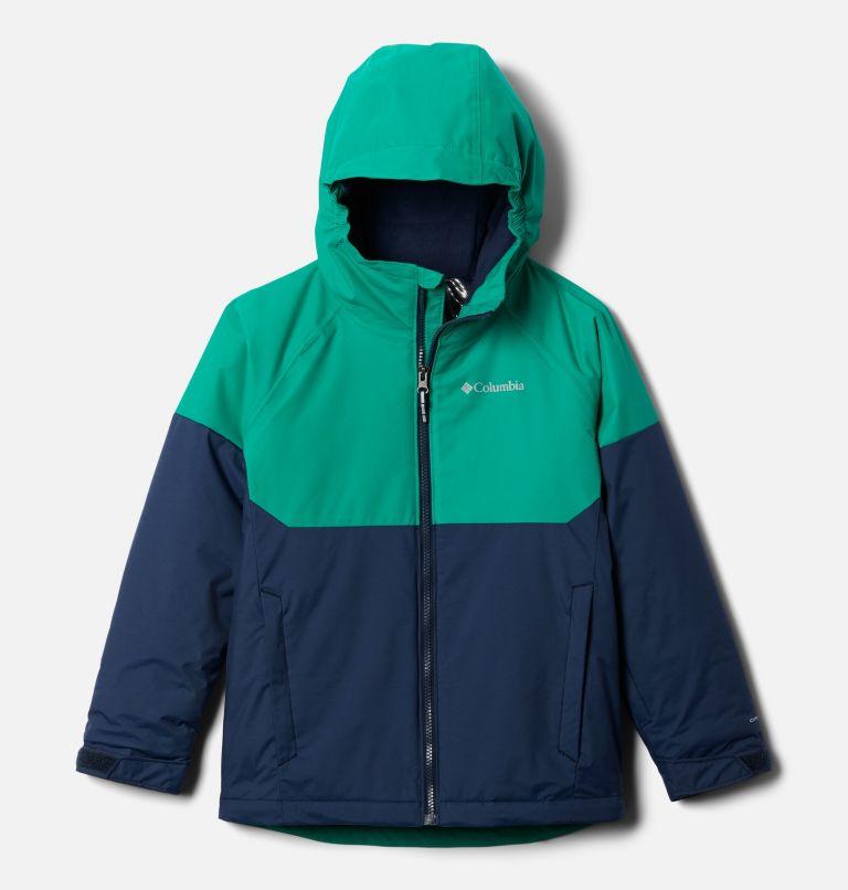 Alpine Action™II Jacket | 464 | XL Boys' Alpine Action™ II Jacket, Collegiate Navy Heather, Emerald Green, front