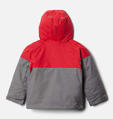 Manteau Alpine Action™ II pour garçon Alpine Action™II Jacket | 023 | 2T, City Grey Heather, Mtn Red, back