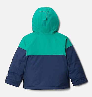 Manteau Alpine Action™ II pour garçon Alpine Action™II Jacket | 023 | 2T, Collegiate Navy Heather, Emerald Green, back