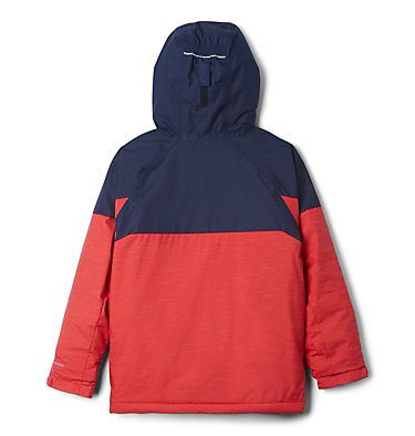 Manteau Alpine Action™ II pour garçon Alpine Action™II Jacket | 023 | 2T, Mountain Red Heather, Collegiate Navy, back