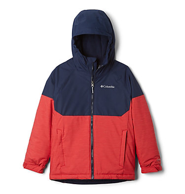 Manteau Alpine Action™ II pour garçon Alpine Action™II Jacket | 023 | 2T, Mountain Red Heather, Collegiate Navy, front