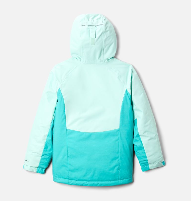 Alpine Action™ II Jacket | 356 | XXS Girls' Alpine Action™ II Jacket, Dolphin Heather, Sea Ice, back