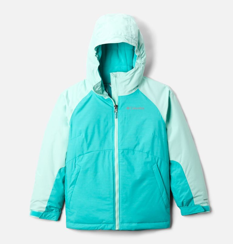 Alpine Action™ II Jacket | 356 | XXS Girls' Alpine Action™ II Jacket, Dolphin Heather, Sea Ice, front
