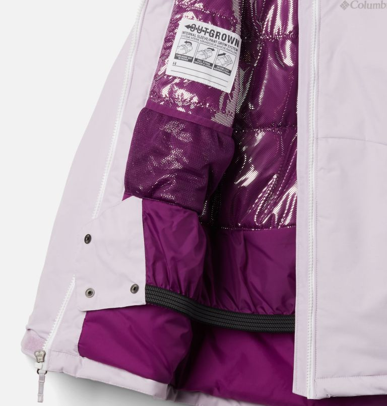 Alpine Action™II Jacket | 584 | L Girls' Alpine Action™ II Jacket, Pale Lilac Heather, Pale Lilac, White, a1