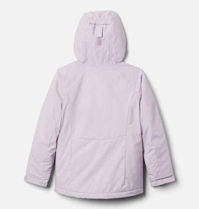 Alpine Action™II Jacket | 584 | L Girls' Alpine Action™ II Jacket, Pale Lilac Heather, Pale Lilac, White, back