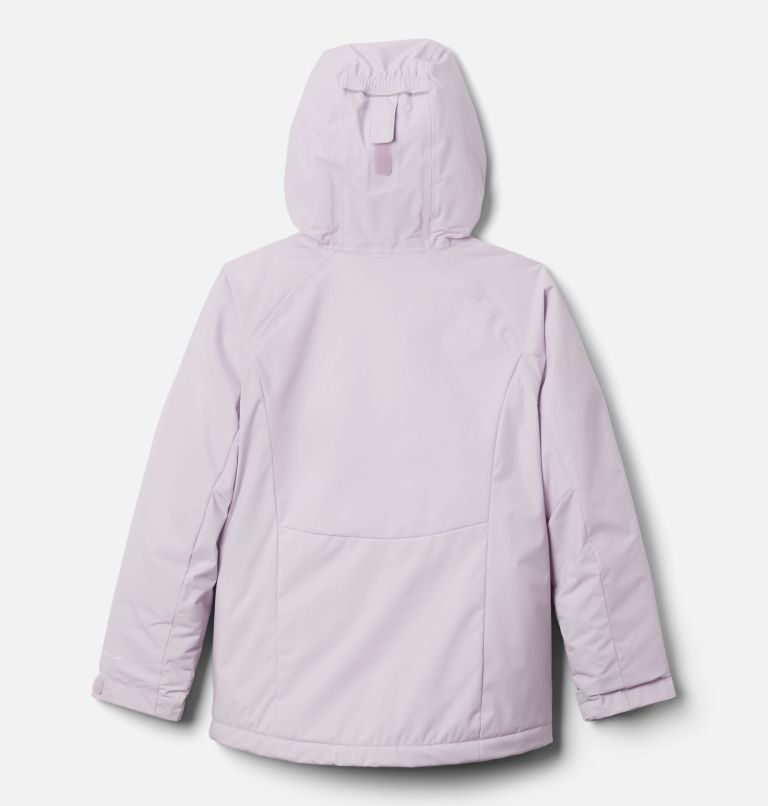 Alpine Action™ II Jacket | 584 | S Girls' Alpine Action™ II Jacket, Pale Lilac Heather, Pale Lilac, White, back