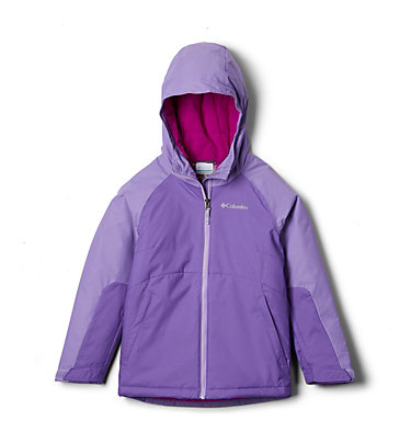 Girls' Alpine Action™ II Jacket Alpine Action™II Jacket | 689 | XL, Grape Gum, Paisley Purple, back