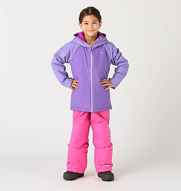 Girls' Alpine Action™ II Jacket Alpine Action™II Jacket | 689 | XL, Grape Gum, Paisley Purple, front