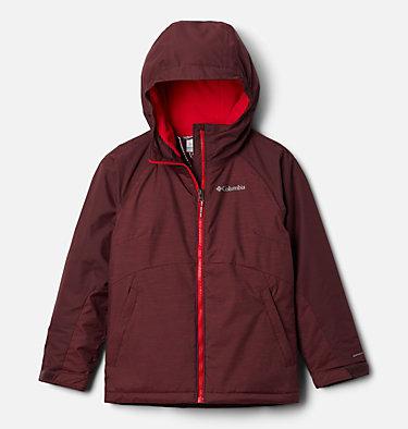 Girls' Alpine Action™ II Jacket Alpine Action™II Jacket   671   XS, Malbec Heather, Malbec, front