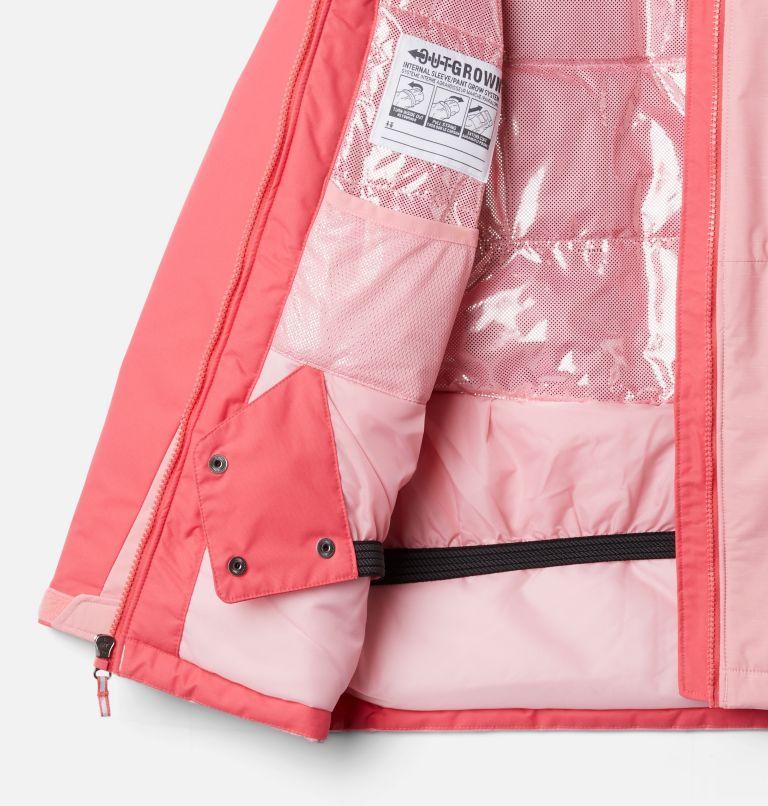 Alpine Action™II Jacket | 689 | L Girls' Alpine Action™ II Jacket, Pink Orchid Heather, Bright Geranium, a1
