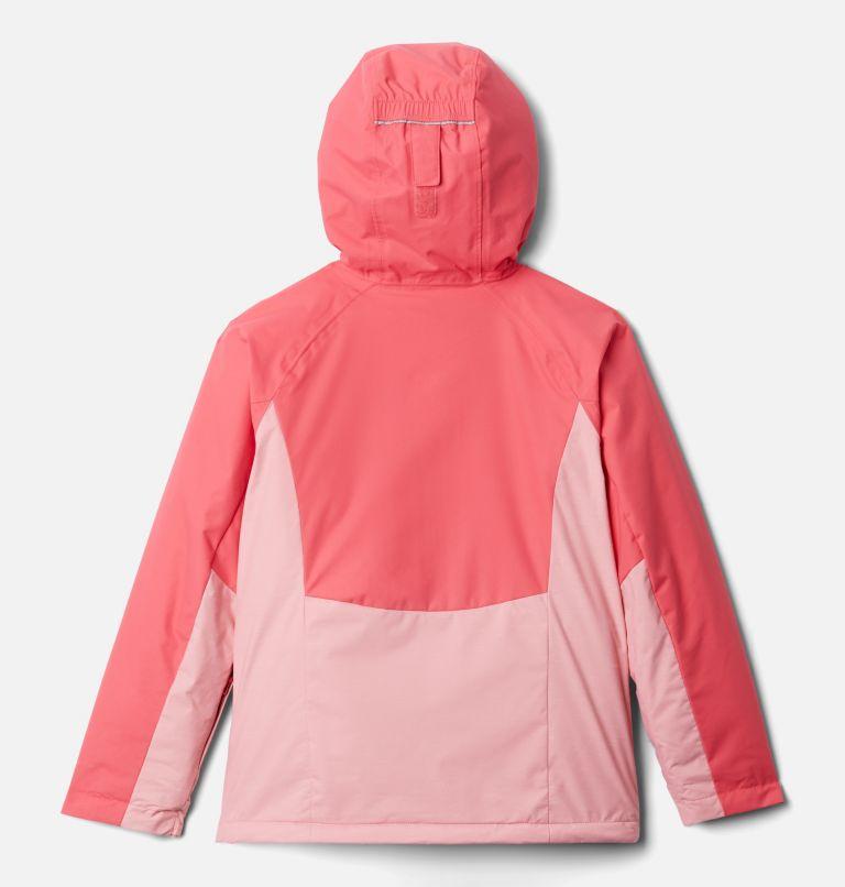 Alpine Action™II Jacket | 689 | L Girls' Alpine Action™ II Jacket, Pink Orchid Heather, Bright Geranium, back