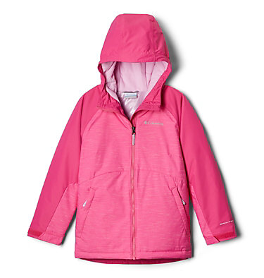 Girls' Alpine Action™ II Jacket Alpine Action™II Jacket | 689 | XL, Pink Ice, front