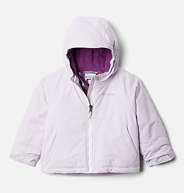 Manteau Alpine Action™ II pour fille Alpine Action™II Jacket | 689 | 2T, Pale Lilac Heather, Pale Lilac, White, front