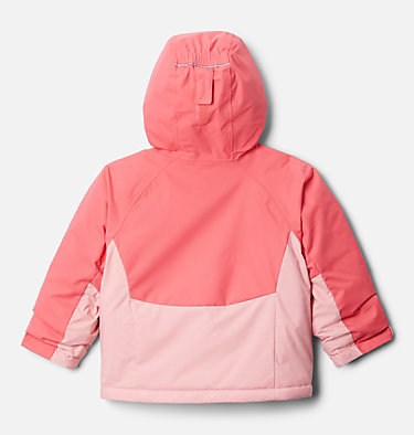 Manteau Alpine Action™ II pour fille Alpine Action™II Jacket | 689 | 2T, Pink Orchid Heather, Bright Geranium, back