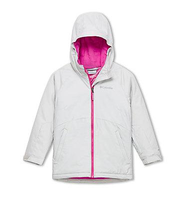 Girl's Alpine Action II Ski Jacket Alpine Action™II Jacket | 695 | L, Silver Grey, front