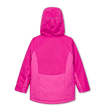 Girl's Alpine Action II Ski Jacket , back