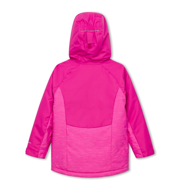 Alpine Action™ II Jacket | 695 | XL Girl's Alpine Action II Ski Jacket, Pink Ice, back