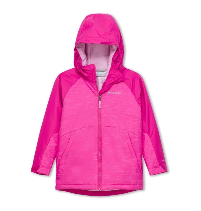 Alpine Action™ II Jacket | 695 | XL Girl's Alpine Action II Ski Jacket, Pink Ice, front