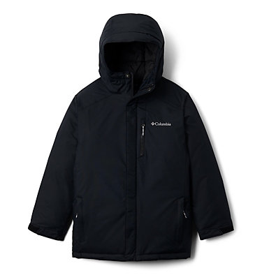 Boys' Alpine Free Fall™ II Jacket Alpine Free Fall™II Jacket | 012 | M, Black, front