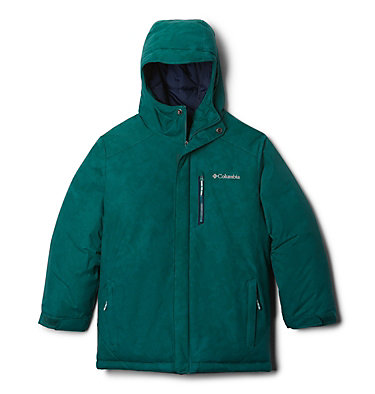 Manteau Alpine Free Fall™ II pour garçon Alpine Free Fall™II Jacket | 363 | L, Pine Green Continents Camo, front