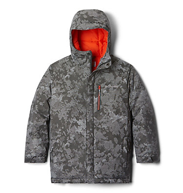 Boys' Toddler Alpine Free Fall™ II Jacket Alpine Free Fall™II Jacket | 432 | 4T, Grill Continents Camo, front