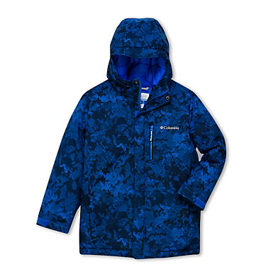Boys' Alpine Free Fall II Ski Jacket Alpine Free Fall™II Jacket | 613 | L, Super Blue Camo, front
