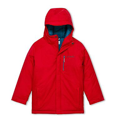 Boys' Alpine Free Fall II Ski Jacket Alpine Free Fall™II Jacket | 613 | L, Mountain Red, front