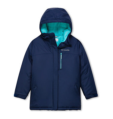 Girl's Alpine Free Fall II Ski Jacket , front