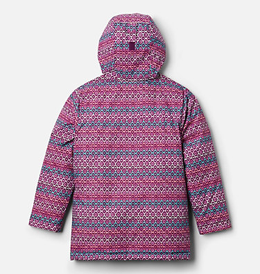 Kids' Alpine Free Fall™ II Jacket Alpine Free Fall™II Jacket | 575 | XS, Plum, Diamond Stripe Print, back