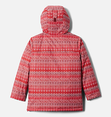 Kids' Alpine Free Fall™ II Jacket Alpine Free Fall™II Jacket | 575 | XS, Marsala Red, Diamond Stripe Print, back