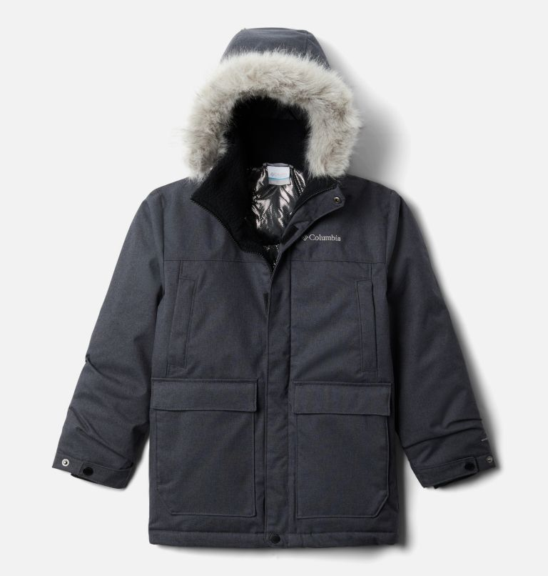 Boys' Boundary Bay™ Down Parka Boys' Boundary Bay™ Down Parka, front