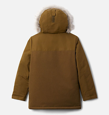 Boys' Boundary Bay Down Parka Boundary Bay™Down Parka | 464 | L, New Olive, back